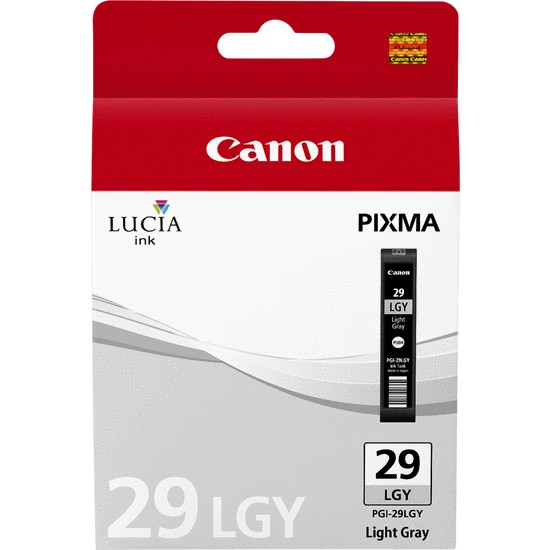 Canon PGI29LGY Light Grey