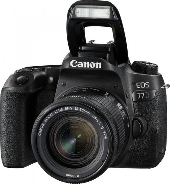 Canon EOS 77D + EF-S 18-55 IS STM CP