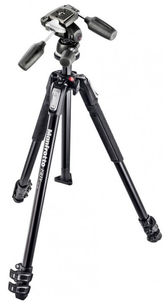 Manfrotto 190X ALU 3 SECTION KIT 3W H.