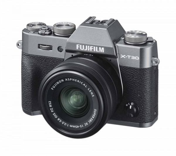 FUJIFILM X-T30 Antraciet / XC15-45mm F3.5-5.6 OIS PZ Kit
