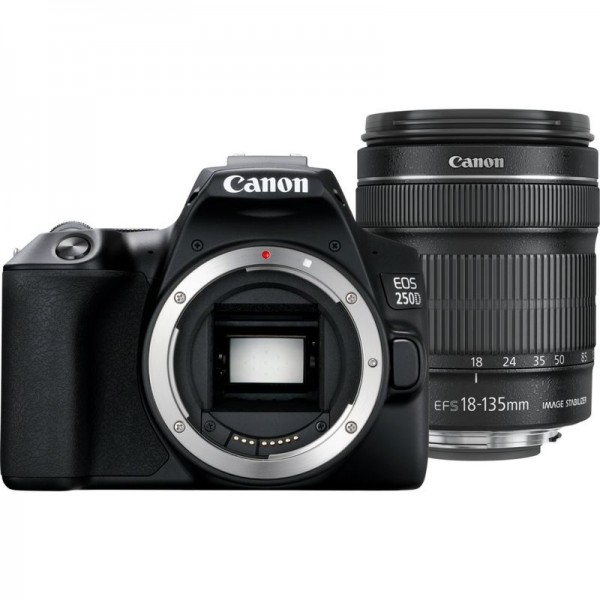 Canon EOS 250D+EF-S 18-135 mm IS STM Kit