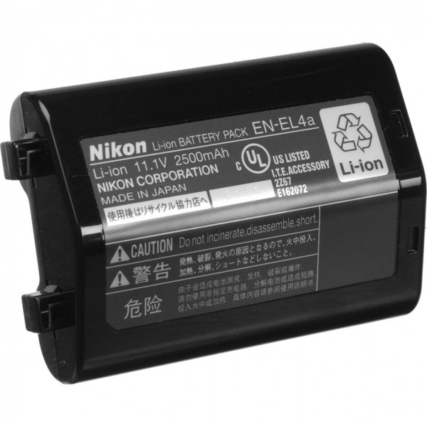 Nikon EN-EL4a BATTERY FOR D3/D2X(s)/D2Hs
