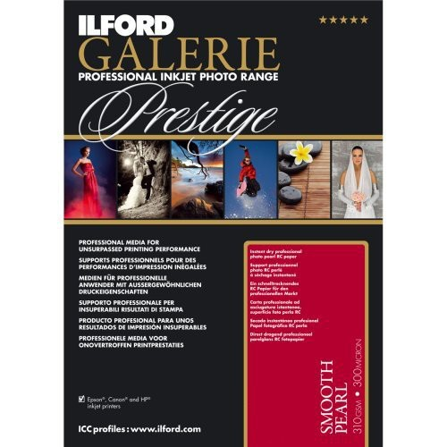 "Ilford/Harman Galerie Prestige Smooth Pearl 310gsm, 4x6"" , 100 sheets"
