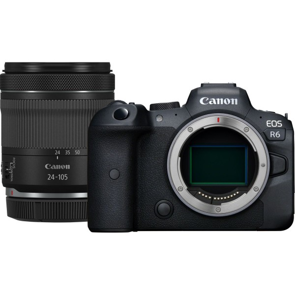 Canon EOS R6+RF 4,0-7,1/24-105 mm IS STM Kit