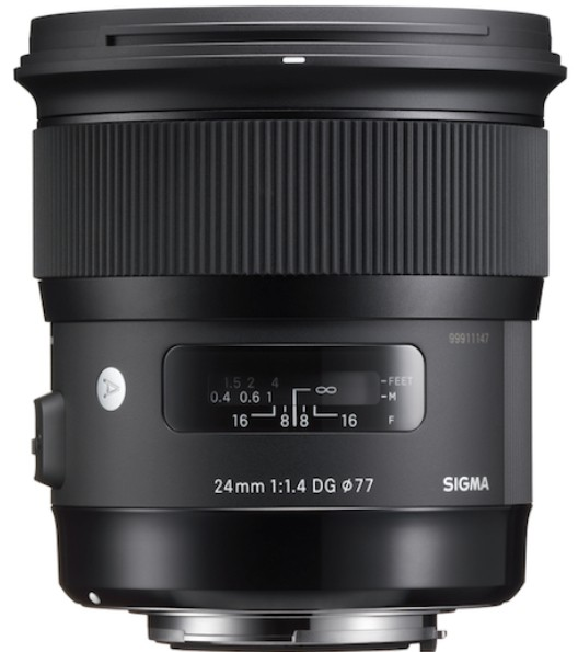 Sigma 24mm F1.4 DG HSM Art Nikon