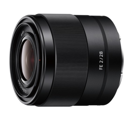 Sony SEL28F20 E-mount lens 28 mm F2