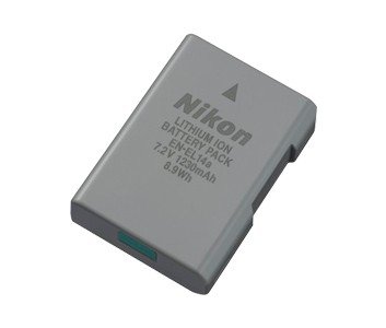Nikon Rechargeable Li-ion Battery EN-EL14a
