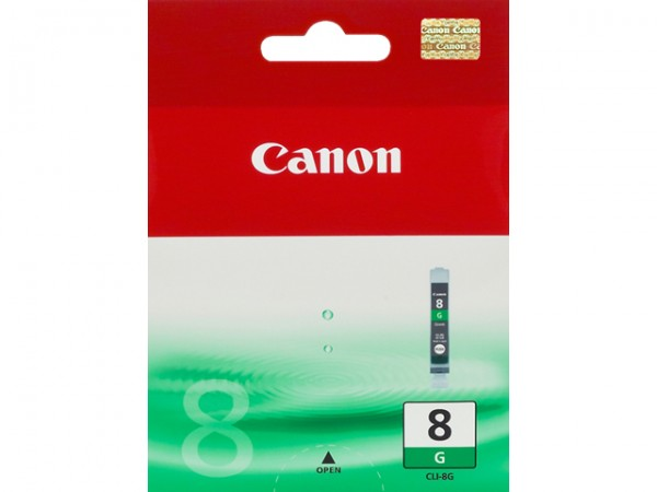 CANON CLI-8G INK CARTRIDGE GREEN STANDARD CAPACITY