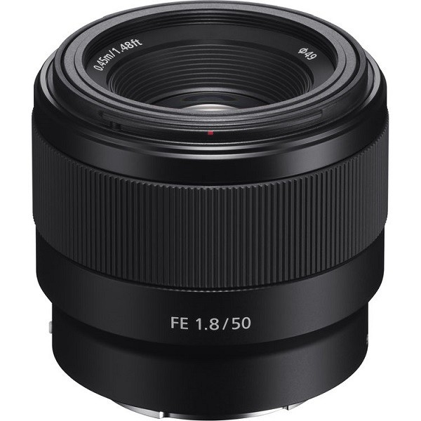 Sony SEL50F18F E-mount  FF lens 50mm F1.8